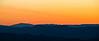 Shenandoah mountains at sunset.