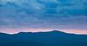 Colorado mountain sunset.