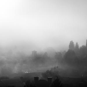 Carcoar in Mist #2