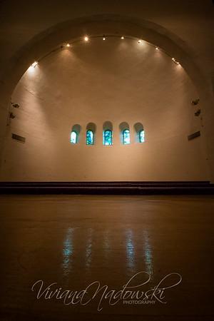 Inside Eaton Chapel