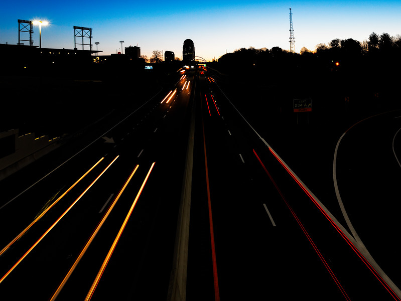Night Trails of the City