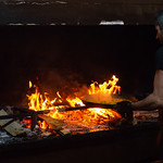 Paella at L'Era in Parcent, Alicnante, Spain with our Spanish familly.   Photo Credit: Al Milligan-KLC fotos