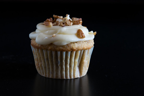 Cupcake with nut topping  Photo Credit: Al Milligan - Al Milligan Images