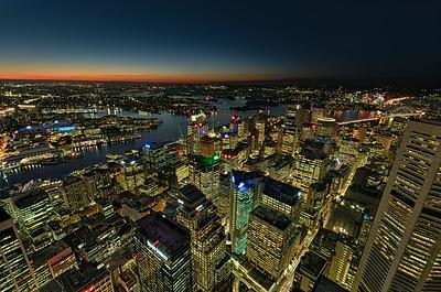 Sydney - seen from Skyeye