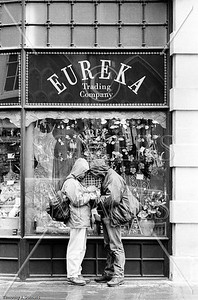 Eureka couple, Bathe, England