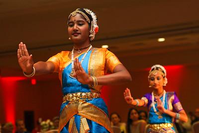 Classic Indian dance at Global Health Consortium fund raiser.