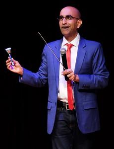 Comedian Rajiv Satyal