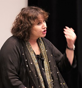 Leslee Udwin at Benedictine University, Chicago