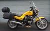 1996 Honda CB750 Nighthawk with Hepco & Becker rack and hard cases