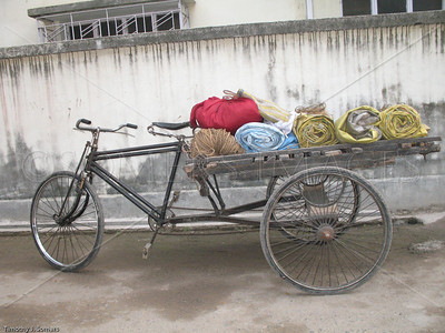 Tricycle truck, Dakshineswar