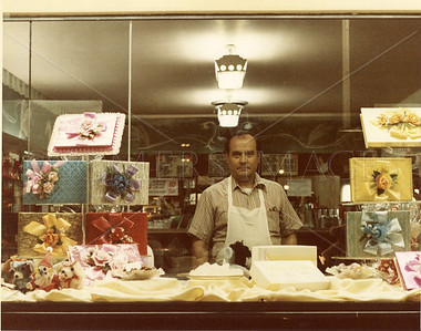 Pete - Owner of Ideal Candies - 32?? N. Clark St., Chicago - 1978