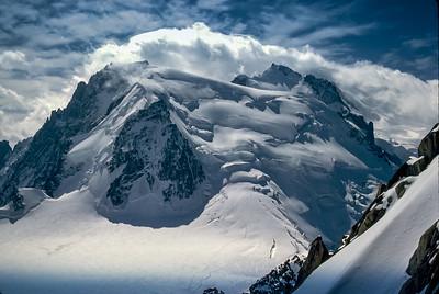 Tallest Peak in the Alps