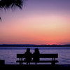 Sunset Chat on the Malecon, La Paz, Baja California Sur, Mexico