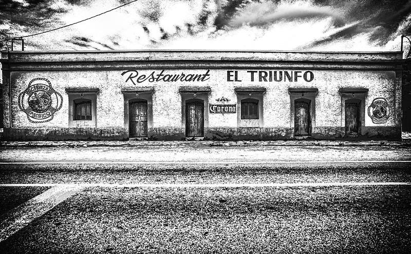 Restaurant El Triunfo, Baja California Sur, Mexico