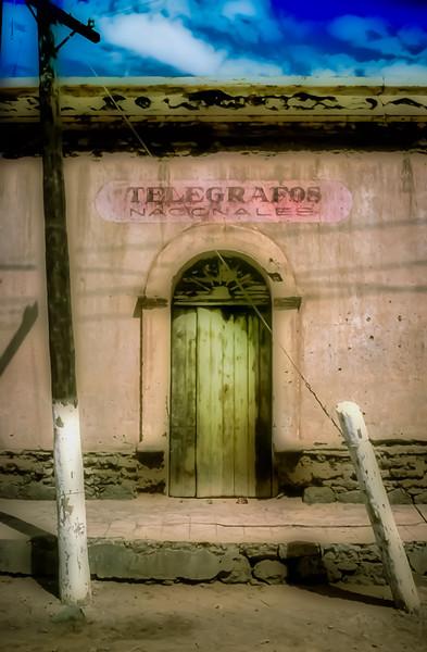 Telegrafos, San Ignacio, Baja California Sur, Mexico