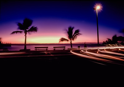 Malecon Sunset, La Paz, Baja California Sur, Mexico