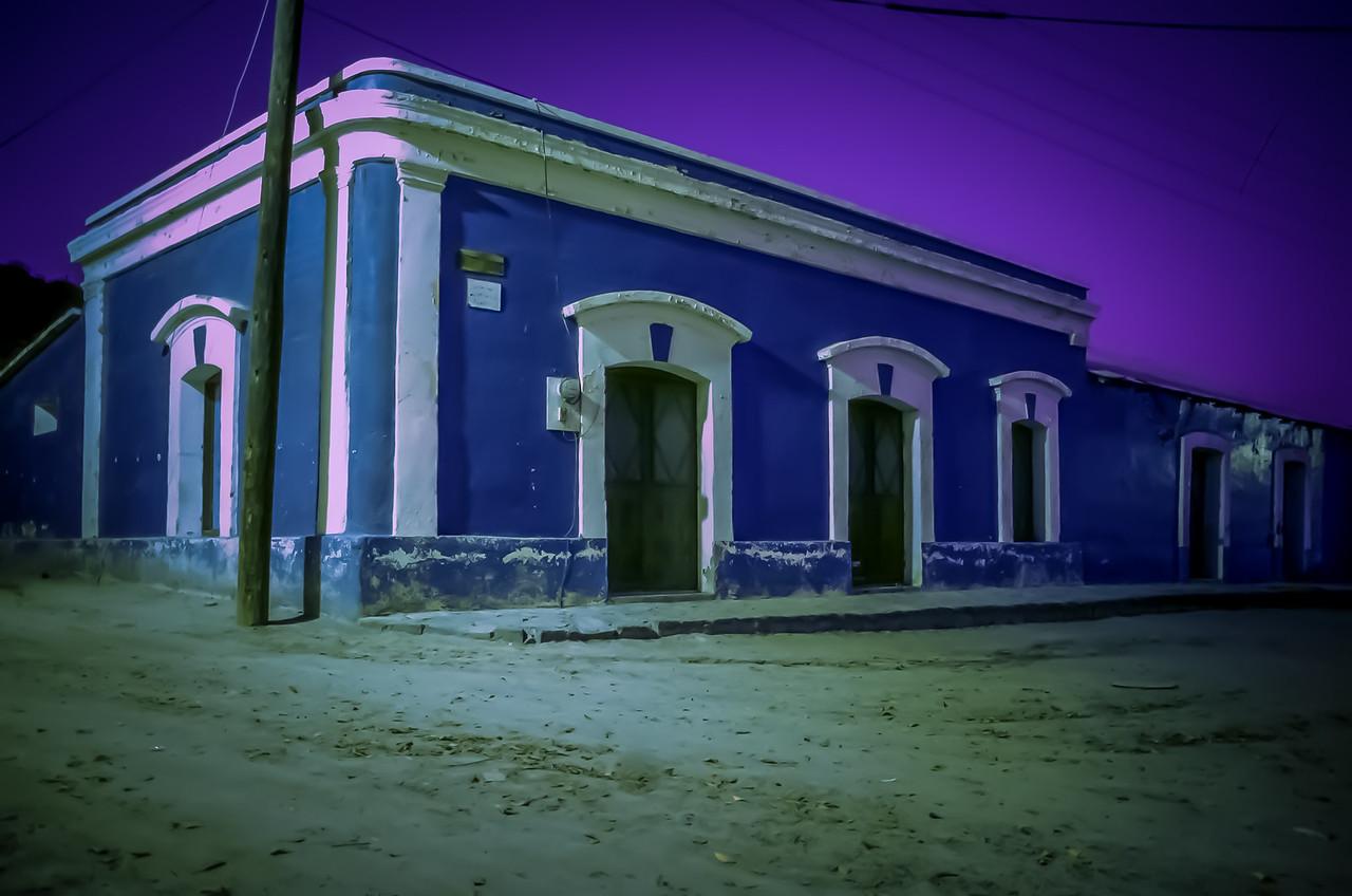 Nightime Exposure in San Ignacio Baja California Sur, Mexico