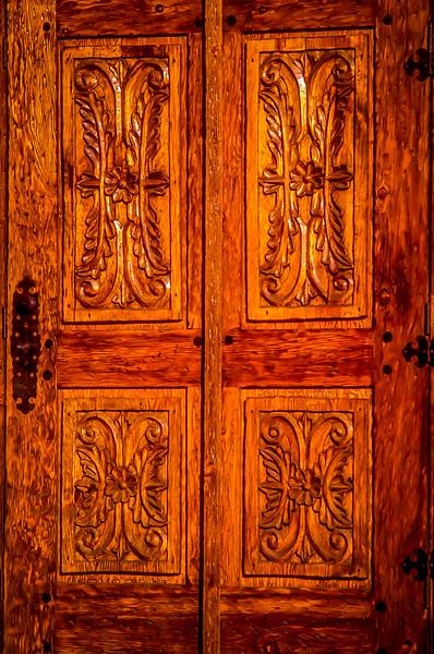 Door Detail, Puebla, Mexico