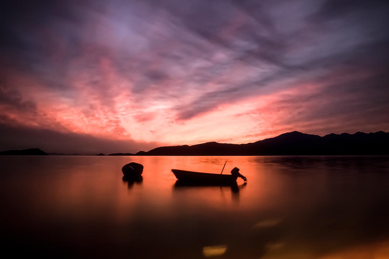 Bahía de los Ángeles sunrise