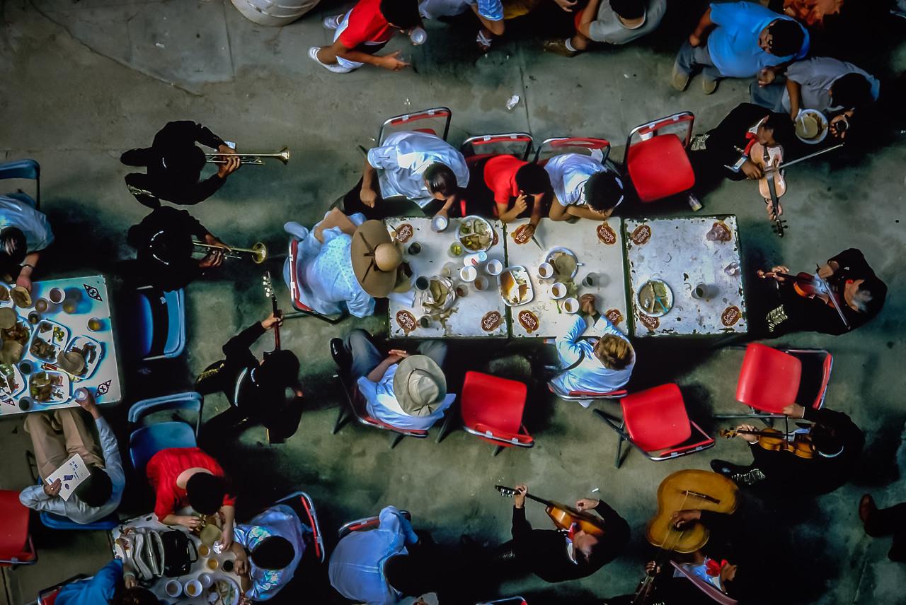 Fiesta outside the Tijuana Bullring