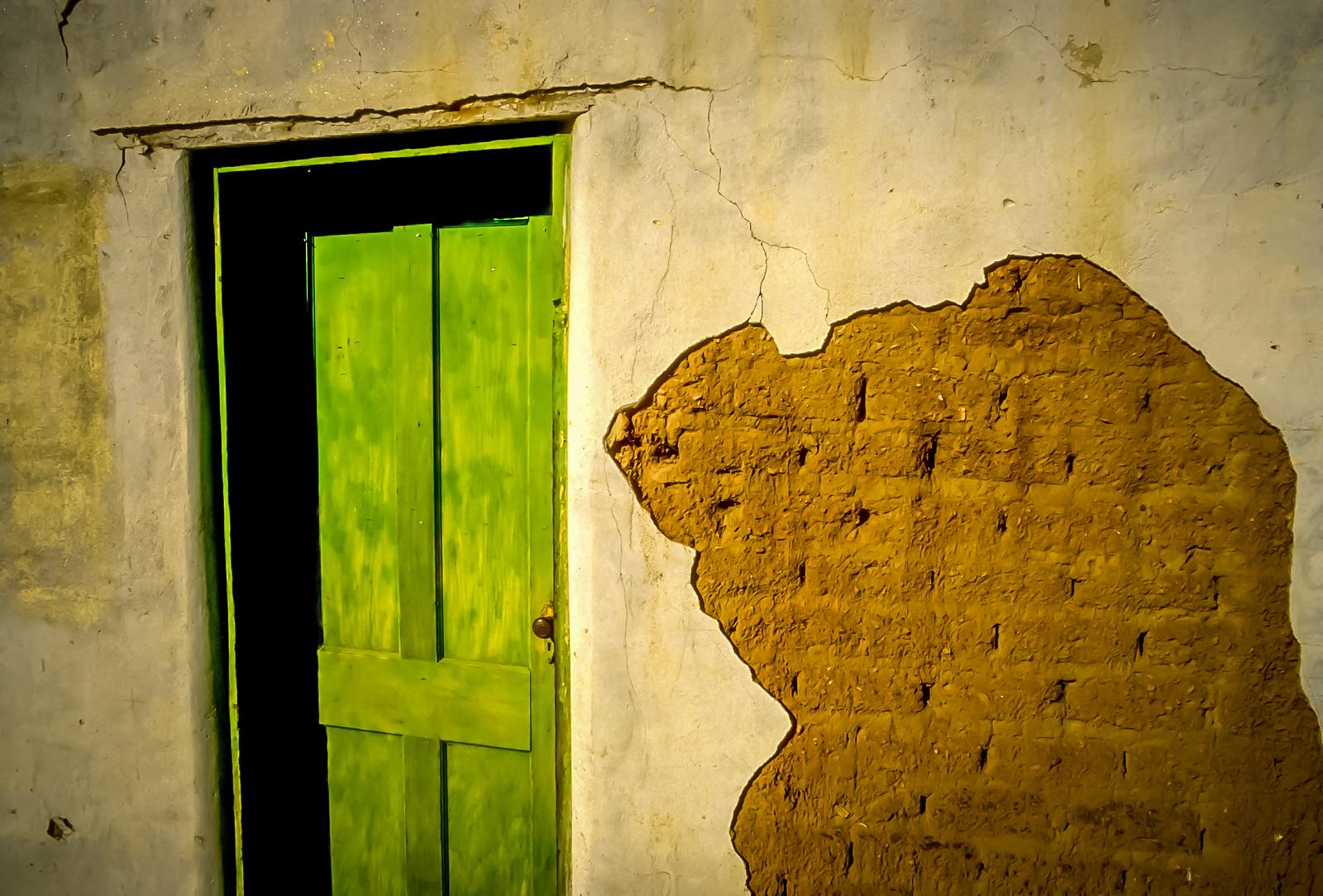 Santo Tomas Door Way, Baja California, Mexico
