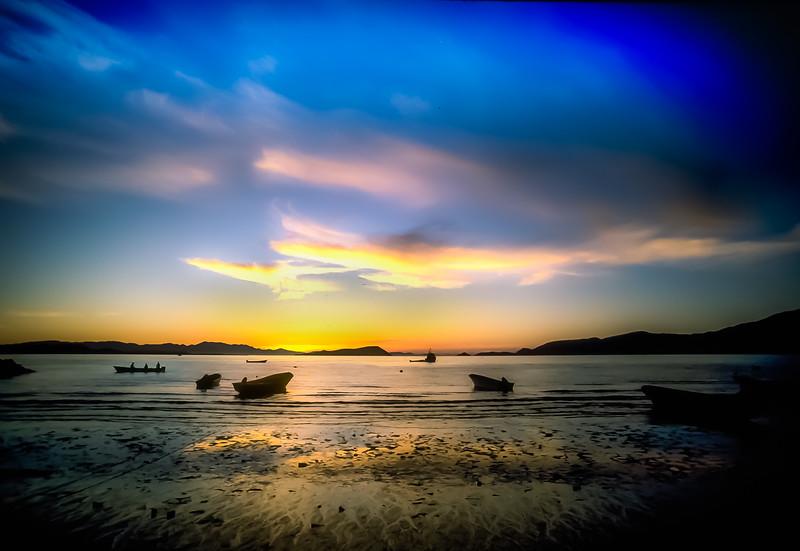 Sunrise Bahía de los Ángeles, Baja California