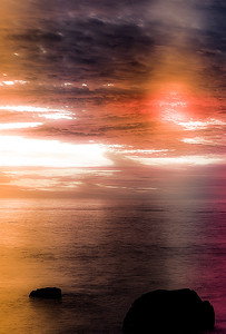 Peaceful Ensenada Sunset, Baja California, Mexico