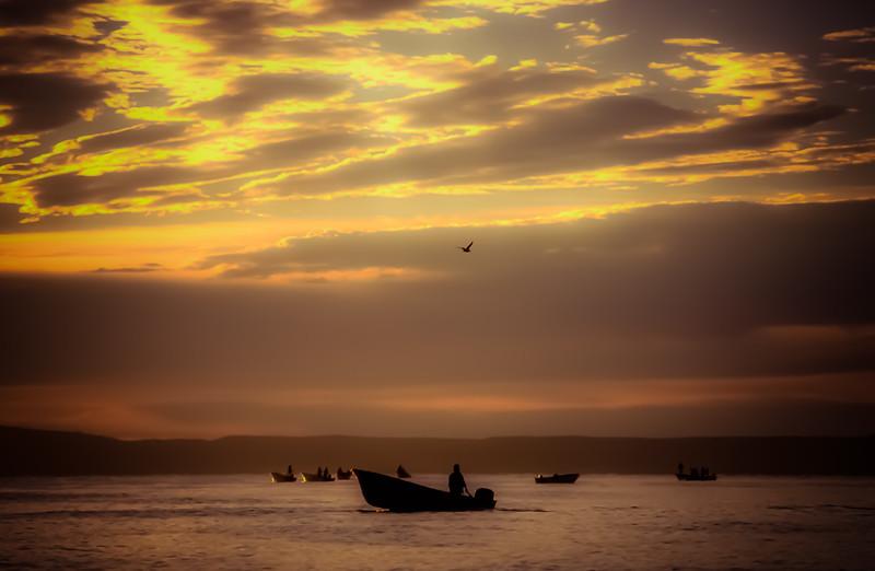 Sunrise on Bahía Concepción, Baja California Sur, BCS, Mexico