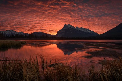 Mt Rundle sunrise
