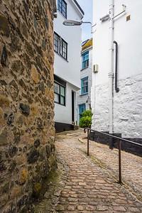 St Ives, Cornwall, alleyway