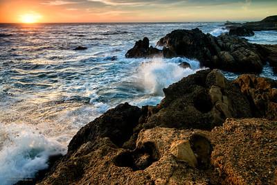 Rocky Pt. Lobos Shoreline