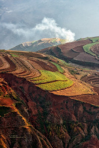 Dongchuan Red Land Area, Yunnan Province