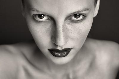 Makeup photo shoot.