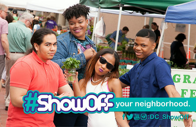 #ShowOff ad campaign for the DC Department of Health.