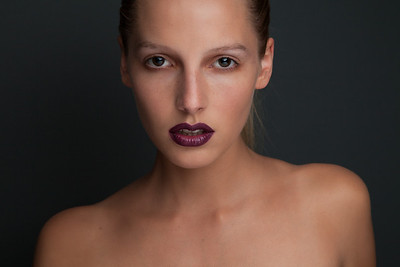 Makeup photo shoot.