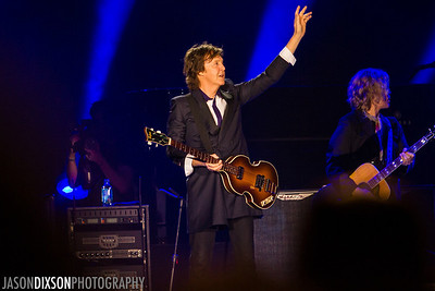 Paul McCartney @ Nationals Park. Photo by Jason Dixson Photography.