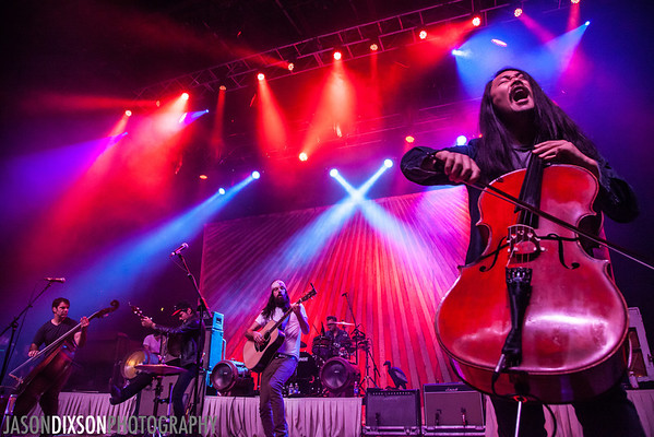The Avett Brothers at Virgin Mobile Freefest 2013.