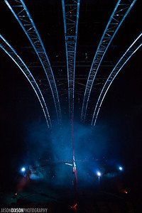Cirque Du Soleil performing Quidam at the Patriot Center on July 17, 2013.  Photo by Jason Dixson Photography.