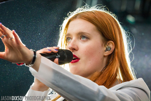 Icona Pop at Virgin Mobile Freefest 2013.