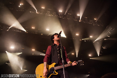 Green Day at the Patriot Center. Photo by Jason Dixson Photography.