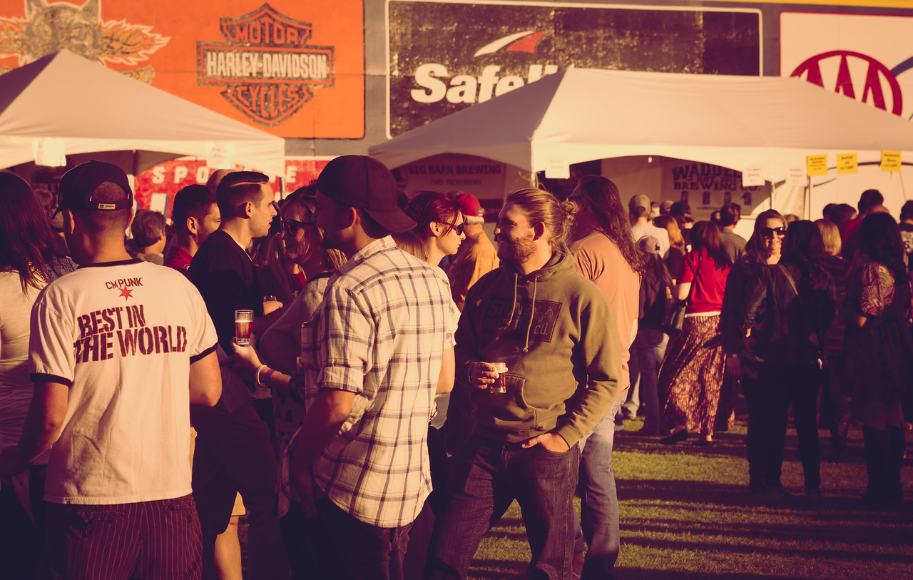 30 craft breweries pouring more than 100 types of beer. The event is being held at Avista Stadium and features live music, great food and baseball-themed fun.