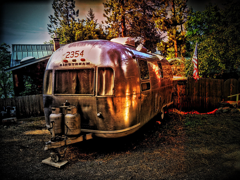 Airstream Land Yacht, Dreamwood Bay, Liberty Lake, Washington