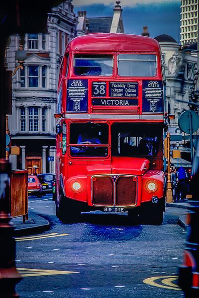 Double Decker Bus, Victoria, London