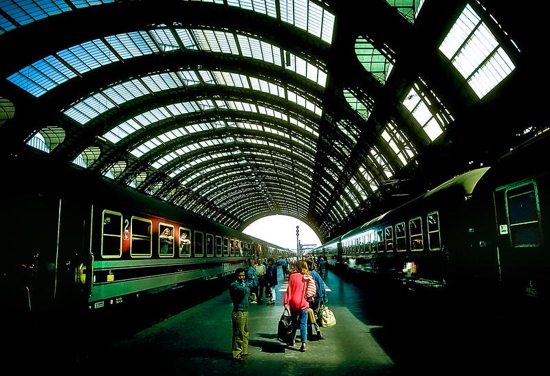 Munich Train Station, Germany