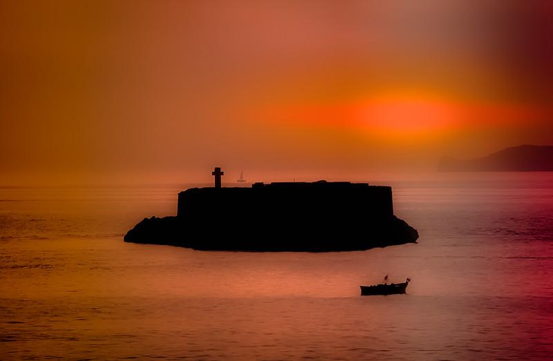 Sunset Marseille, France