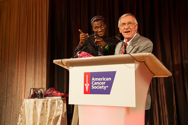 Robert Griffin III at the American Cancer Society 2013 Mother of the Year award ceremony.  Photo by Jason Dixson Photography.