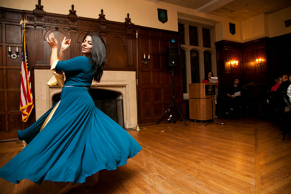 Nowruz celebration at Georgetown University.