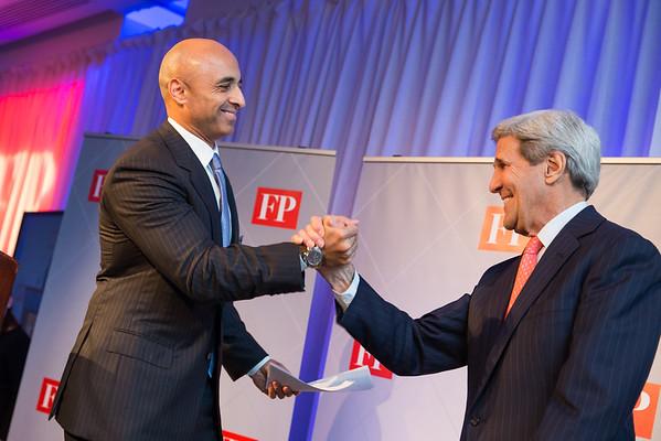 Ambassador of the Emirates and Secretary John Kerry