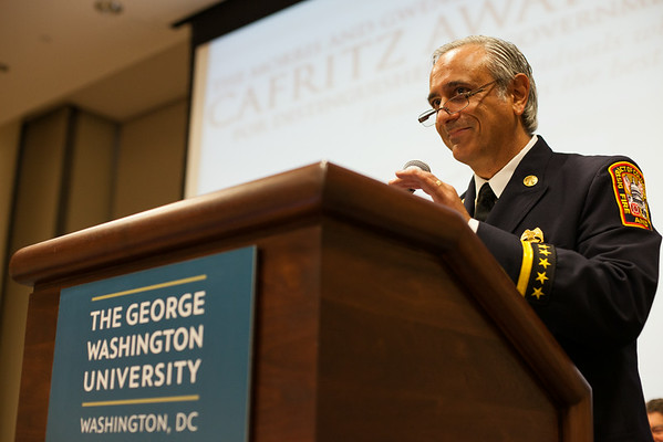 Acceptance speech at the 2013 Cafritz Awards for Distinguished DC Government Employees.