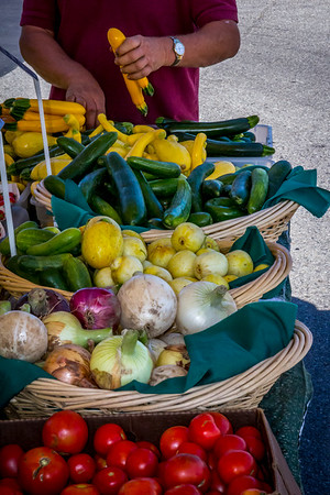 Fresh Produce from the Farmers Market, Liberty Lake, Washington